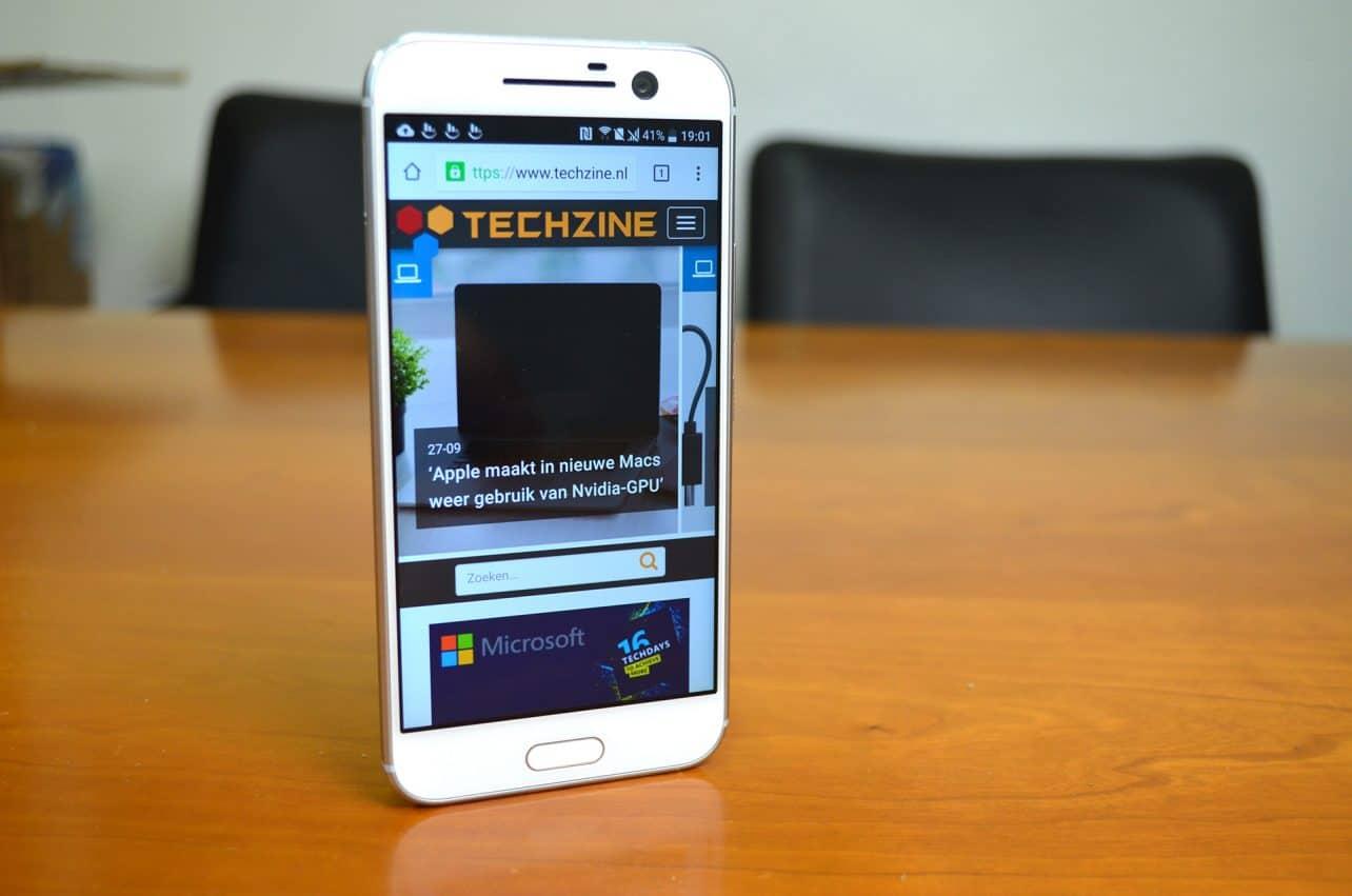 HTC start met uitrol Android 7.0 Nougat voor HTC 10