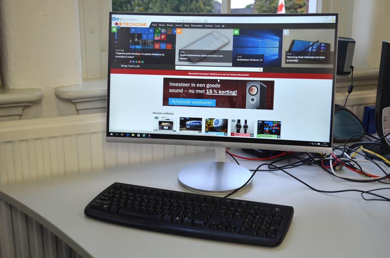 Review: Samsung C27F591FDU monitor – betaalbaar curved
