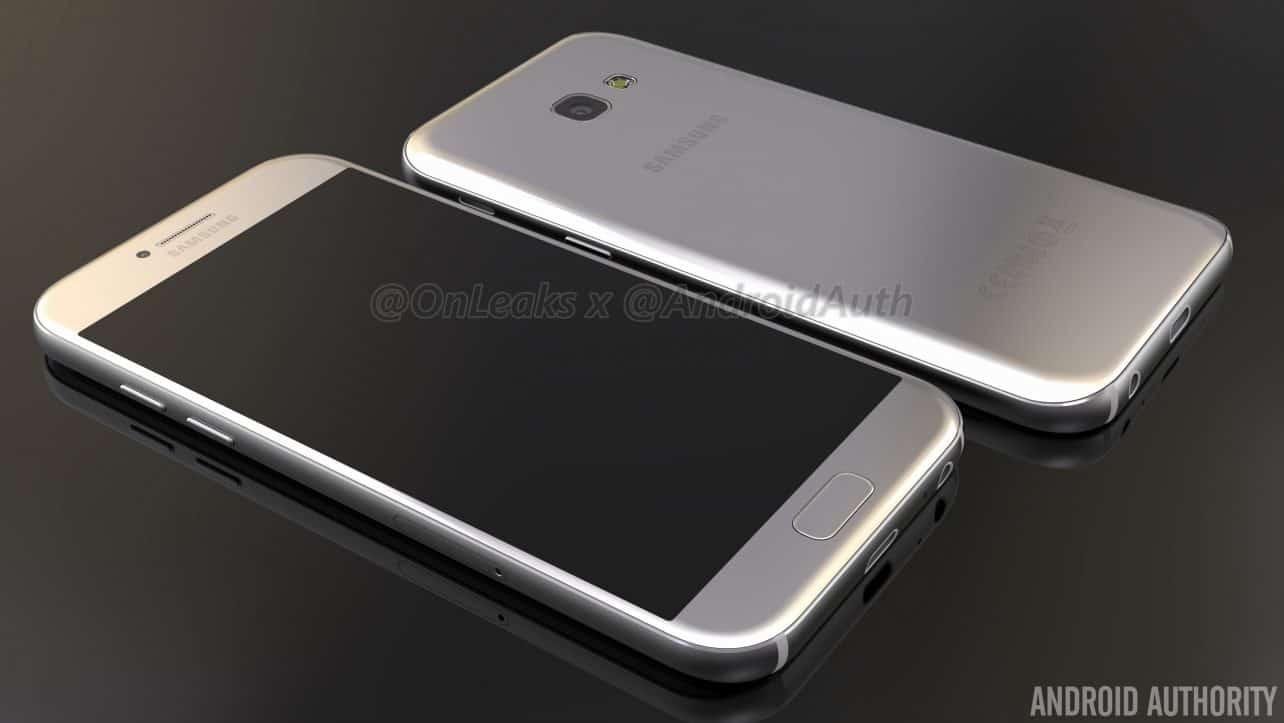 'Ontwerp Samsung Galaxy A5 gebaseerd op Galaxy S7'