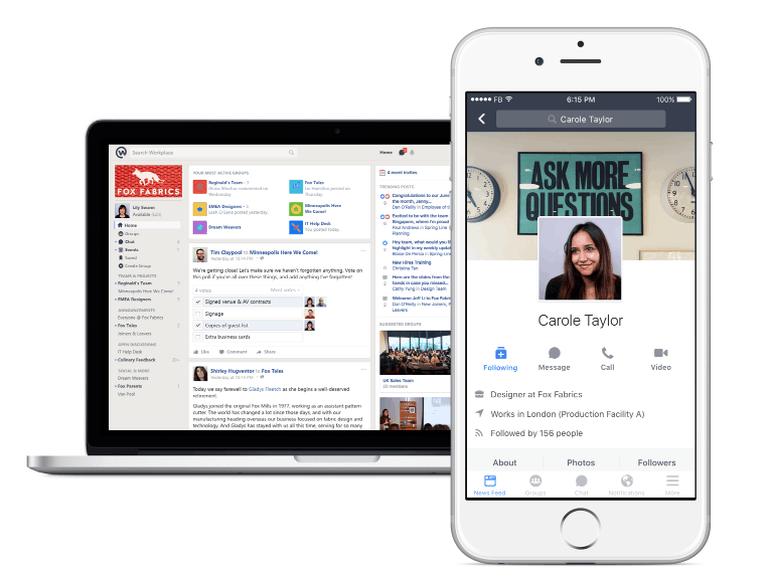 Facebook lanceert zakelijke variant Workplace