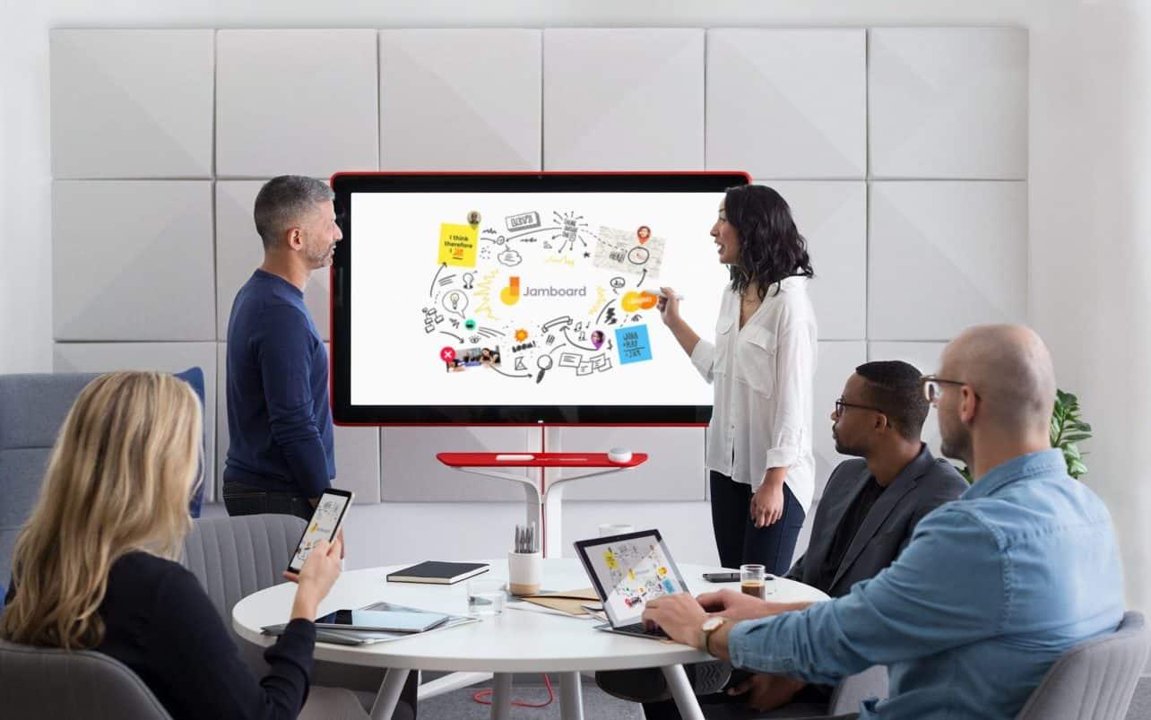 Google komt met digitaal whiteboard voor ondernemingen