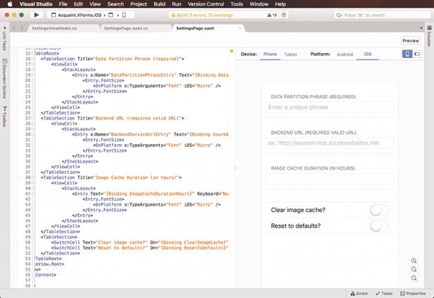 Visual Studio macOS