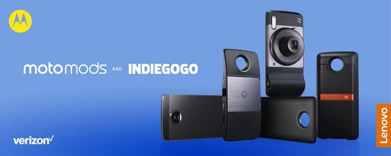 Lenovo investeert miljoen dollar in Moto Mods van derde partijen