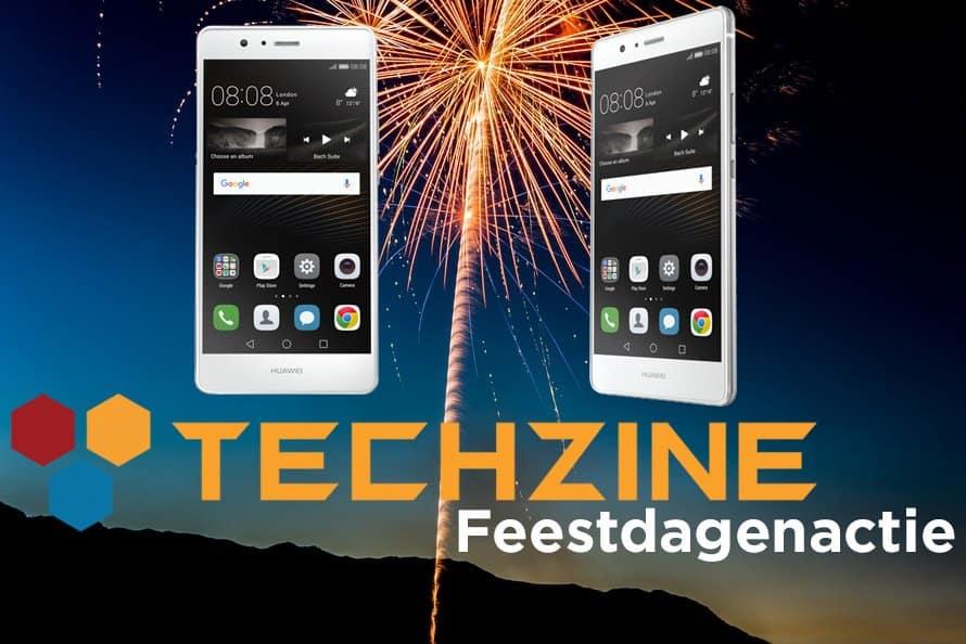 Techzine Feestdag 3: Win een Huawei P9 Lite
