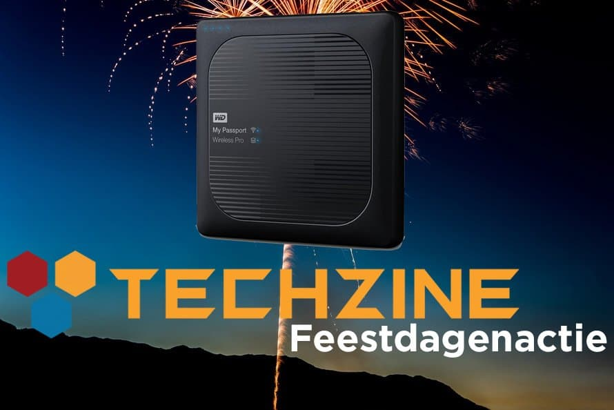 Techzine Feestdag 19: Win een WD My Passport Wireless Pro 2TB