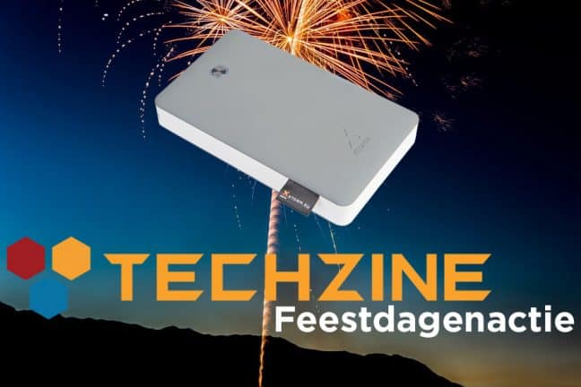 Techzine Feestdag 21: Win een Xtorm Power Bank Discover van 17.000 mAh