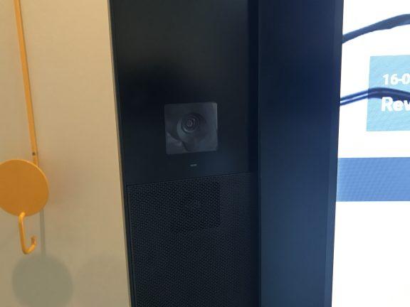 Microsoft Surface Hub camera