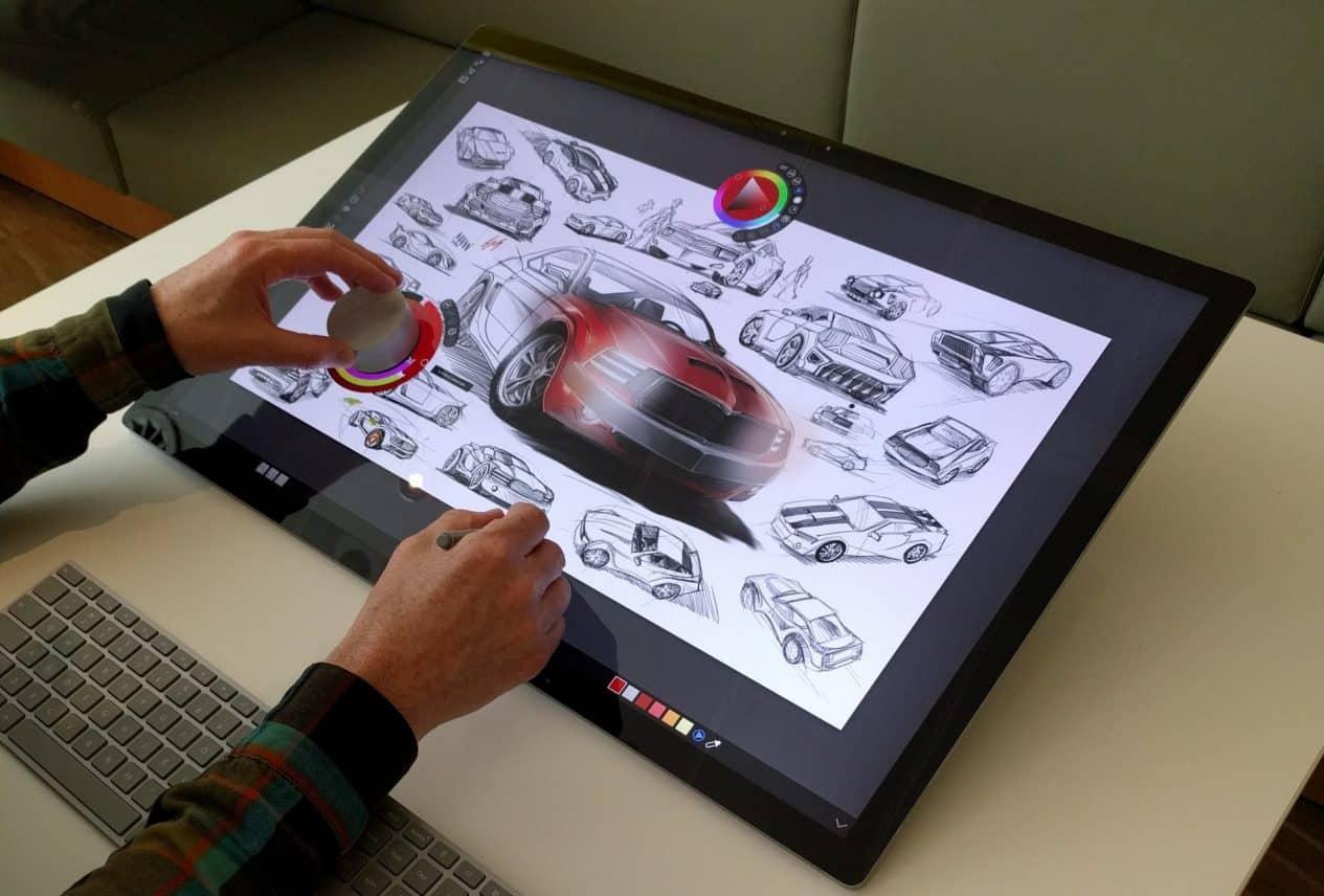Review: Eerste blik op de Microsoft Surface Studio, stijlvolle all-in-one-pc voor veeleisende gebruikers
