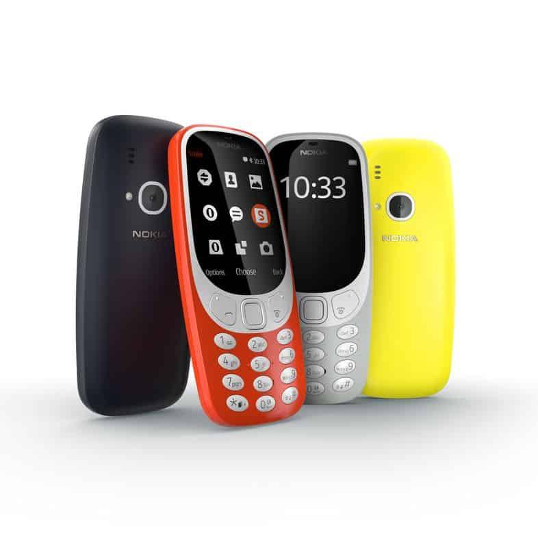 Vernieuwde Nokia 3310 begin juni te koop in de winkel