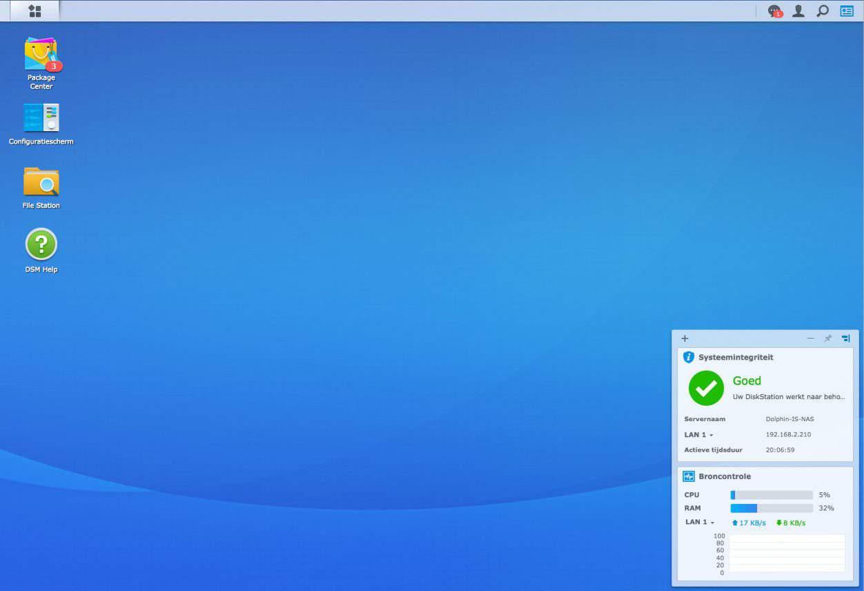 Synology maakt DiskStation Manager 6.2 beschikbaar