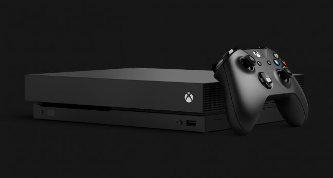 Microsoft presenteert de Xbox One X