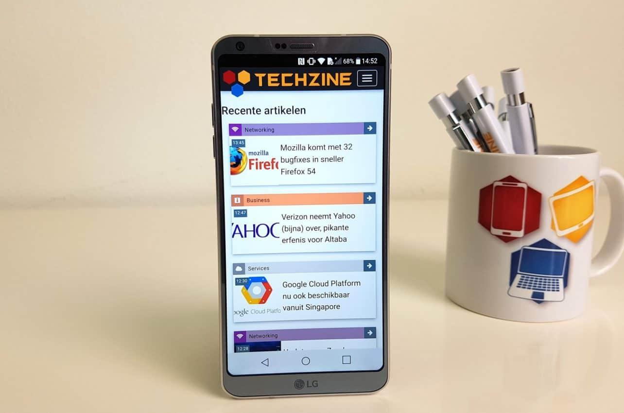 LG en Trendforce verwachten meer langere smartphones met 18:9-verhouding