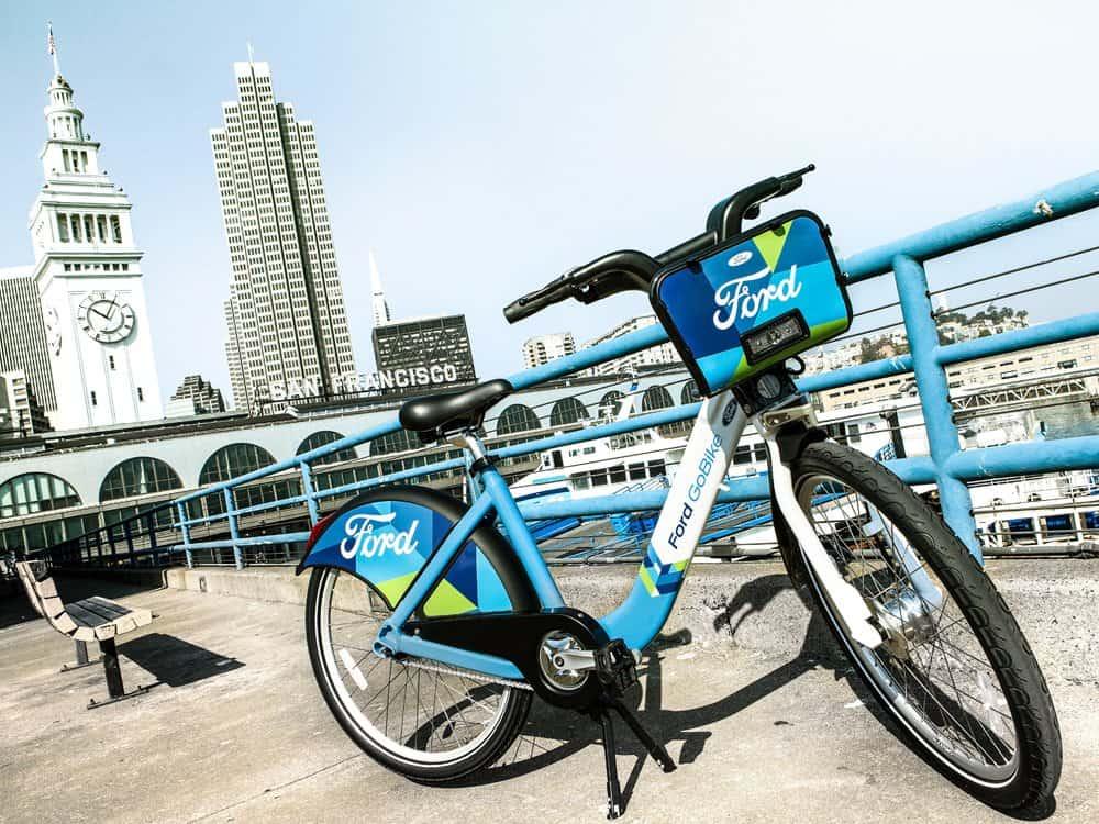 Ford lanceert deelnetwerk voor e-bikes in San Francisco