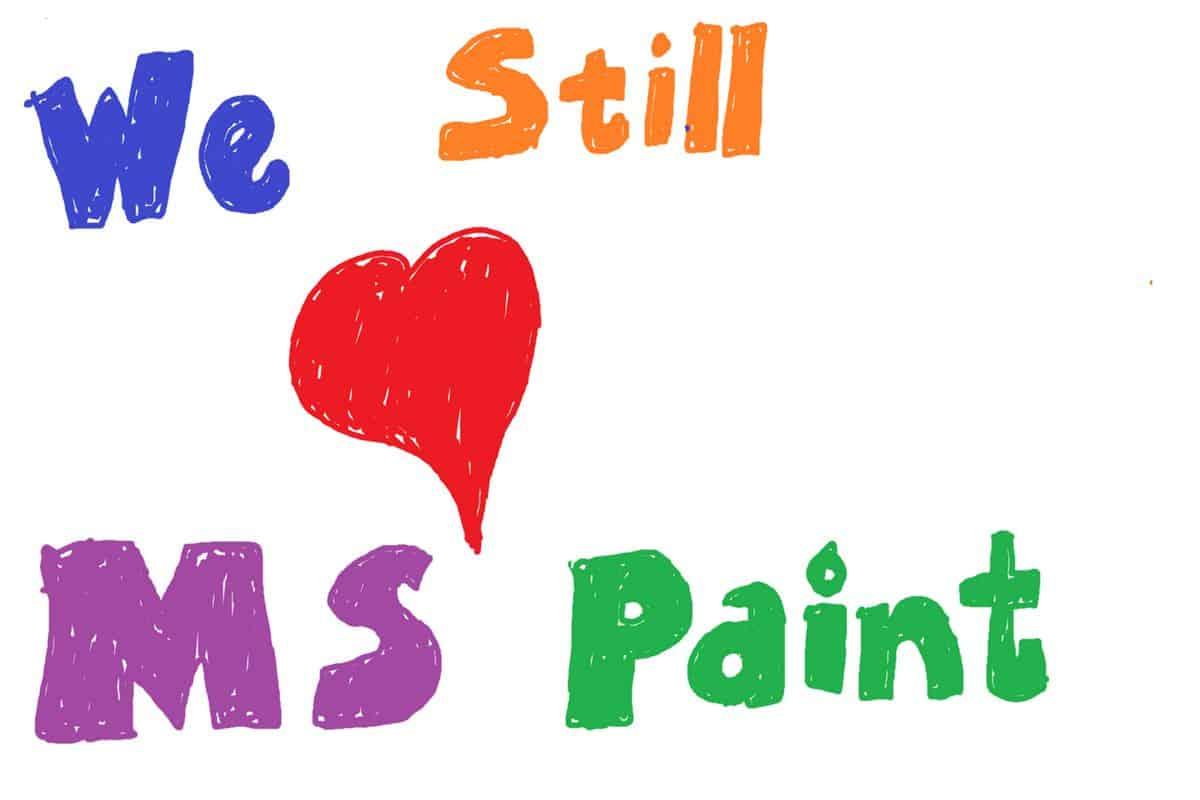 Paint gaat updates via Microsoft Store krijgen