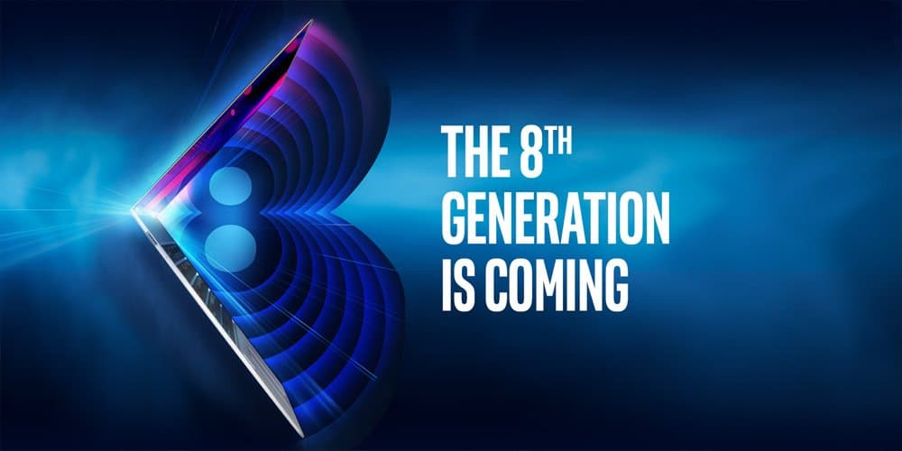 Intel onthult achtste generatie Core-processors op 21 augustus