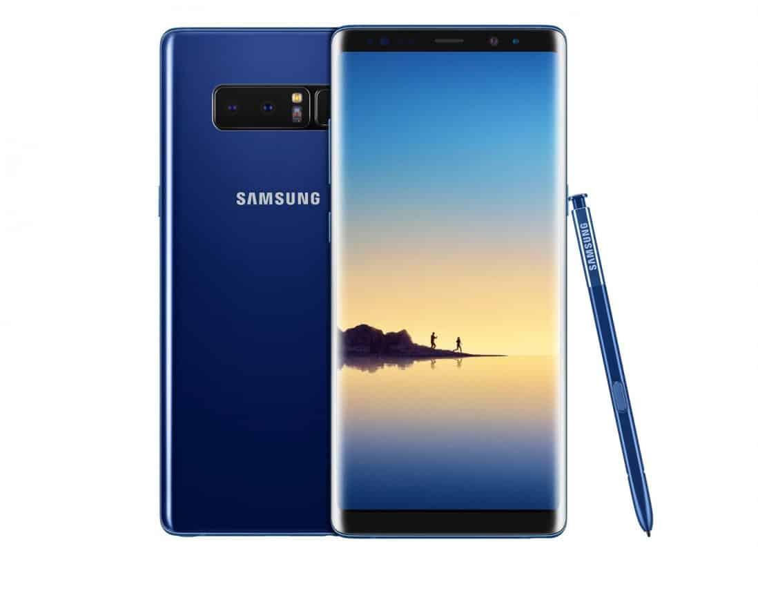Samsung Galaxy Note 8 vanaf vandaag te koop