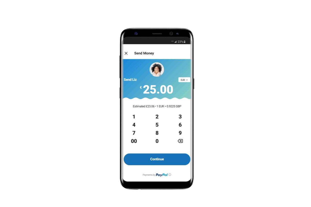 Integratie PayPal in Skype Mobile App: geld versturen via Skype
