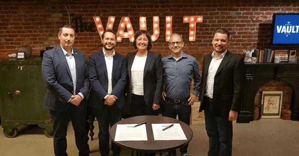Nederlandse The Hague Tech tekent overeenkomst met The Vault om startups te helpen