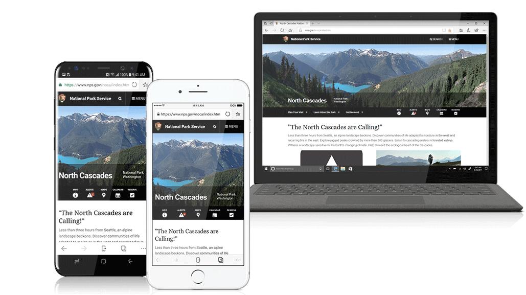 Microsoft brengt Edge naar iOS en Android