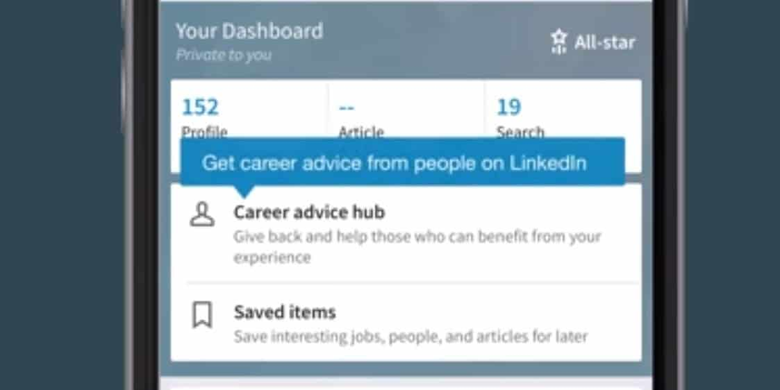 Nieuwe LinkedIn feature brengt je in contact met mentors voor carrièreadvies