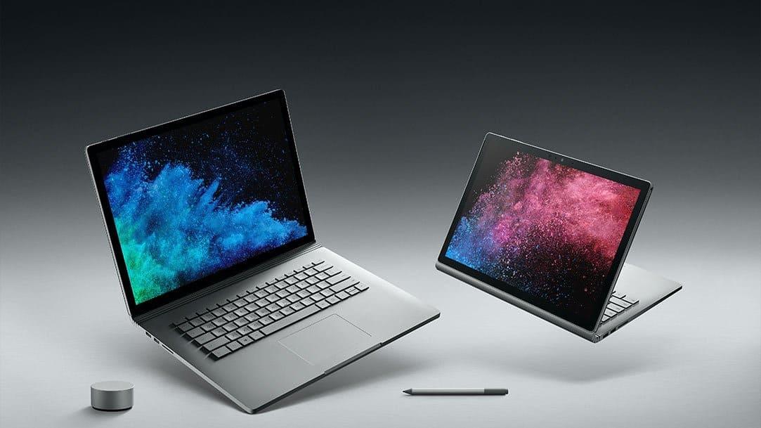 Microsoft bevestigt batterijproblemen Surface Book 2