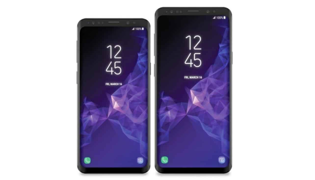 Ontwerp Samsung Galaxy S9 en S9+ zichtbaar op nieuwe afbeelding