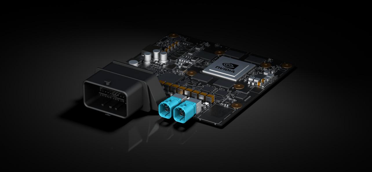 Nvidia onthult drie AI-platformen voor autonome auto's