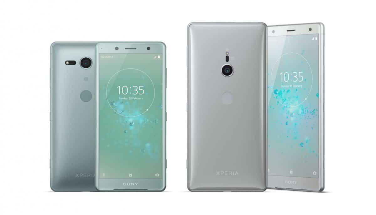 Sony komt met nieuwe toptelefoons: Xperia XZ2 en XZ2 Compact