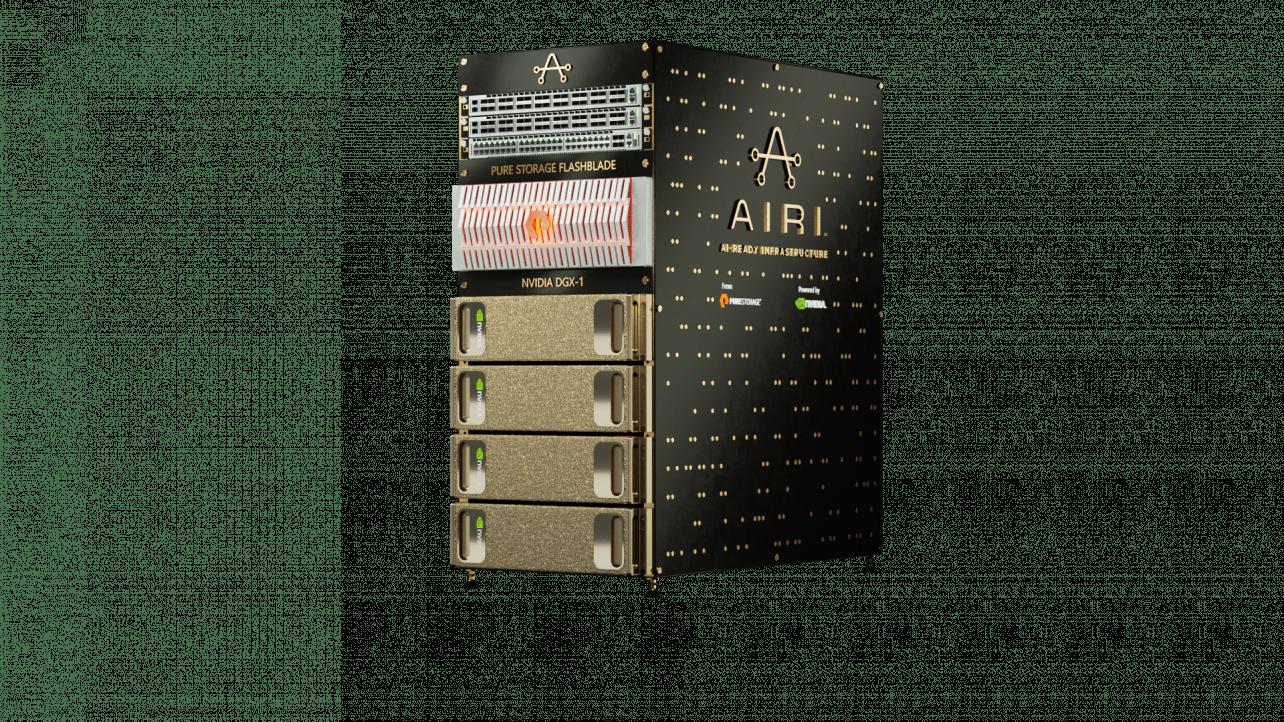 AIRI-infrastructuur van Pure Storage voor grootschalige AI-toepassingen