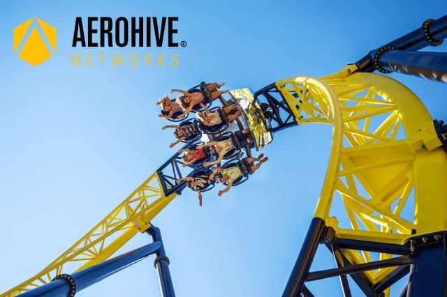 Wifi in de achtbaan: de keuze van Walibi Holland voor Aerohive Networks