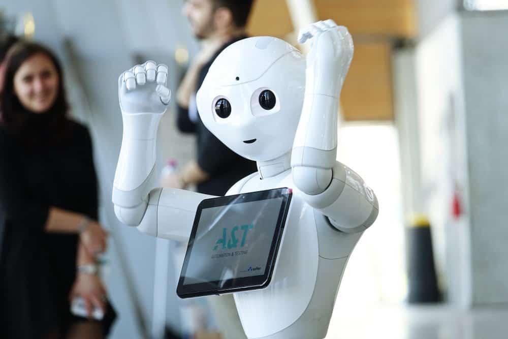 Pepper de menselijke robot is eenvoudig te hacken