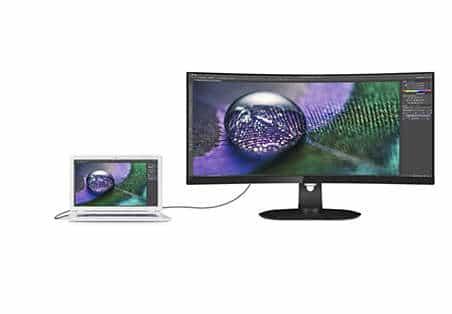 Philips onthult QHD-monitoren van 34-inch en 27-inch met USB-C docking