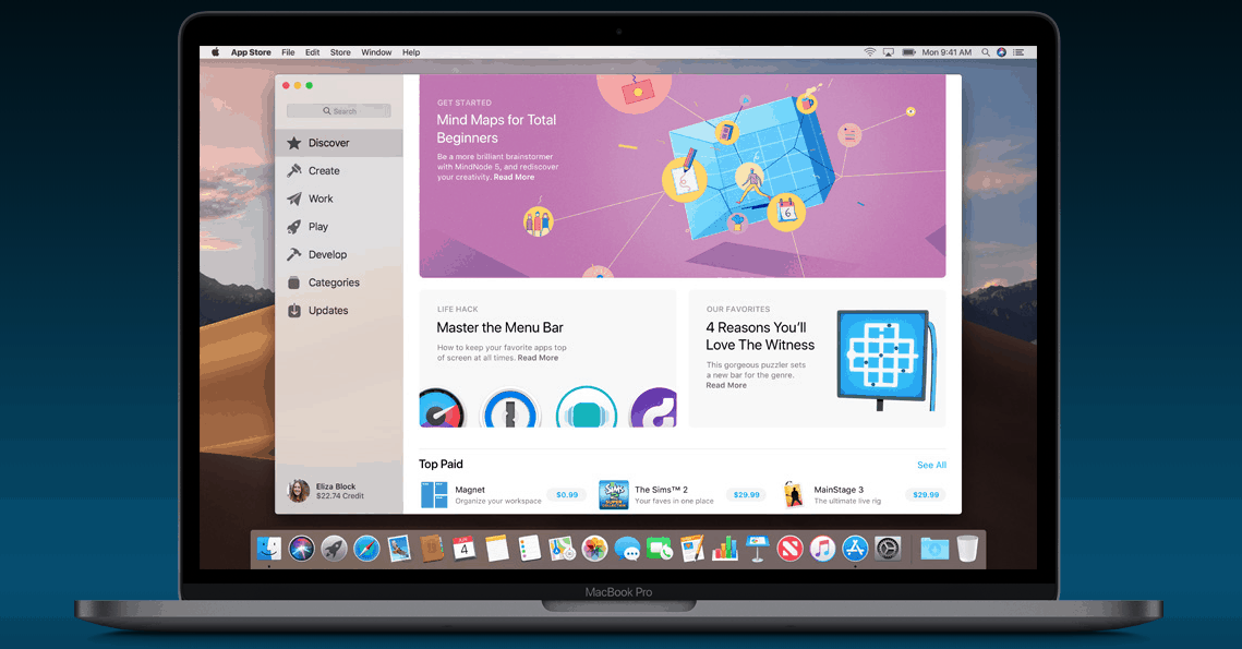 Apple brengt iOS-apps en meer privacy naar nieuwe macOS Mojave