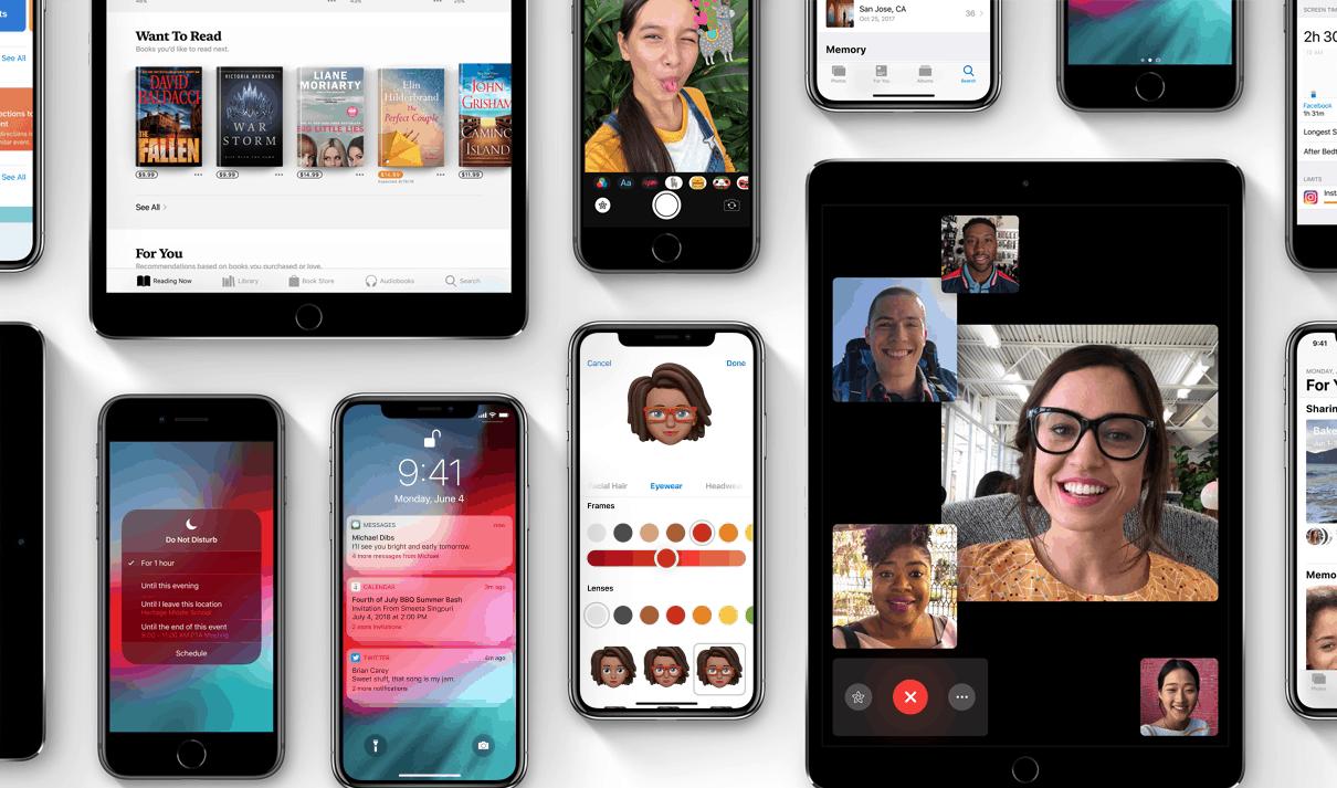 iOS 12 maakt vooral oudere apparaten sneller