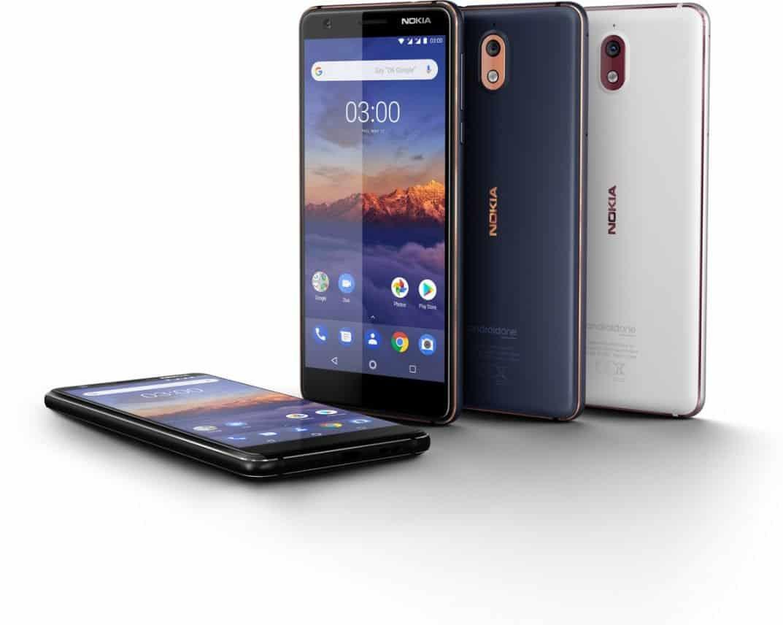 Nokia 3.1 verschijnt volgende week in Nederland