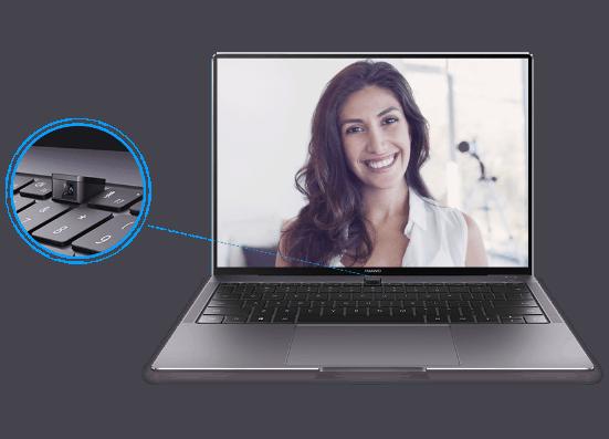 Huawei brengt Matebook-laptops met camera in toetsenbord naar Nederland