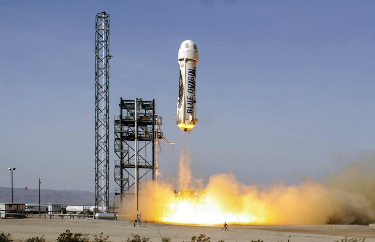 Blue Origin, ruimtevaartbedrijf van Jeff Bezos, verkoopt nu ook raketmotoren