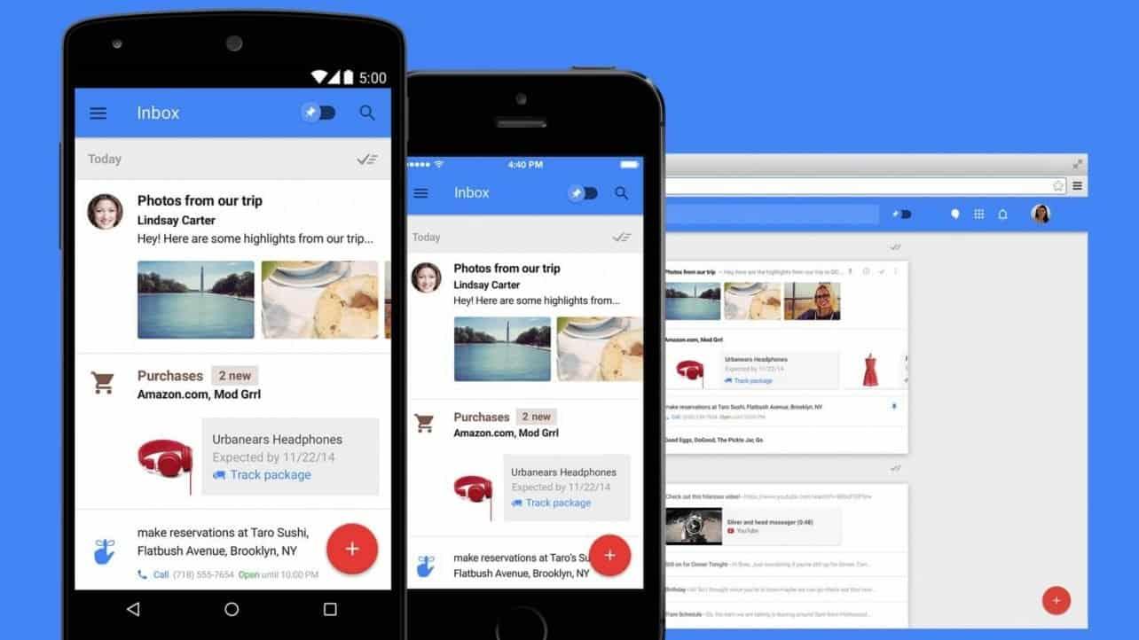 Google zet Inbox-maildienst per maart 2019 stop