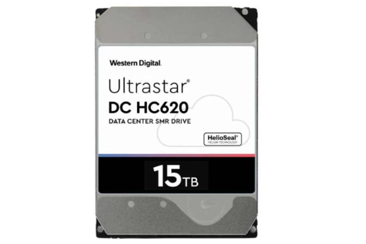 Western Digital claimt grootste capaciteit met 15 TB HDD
