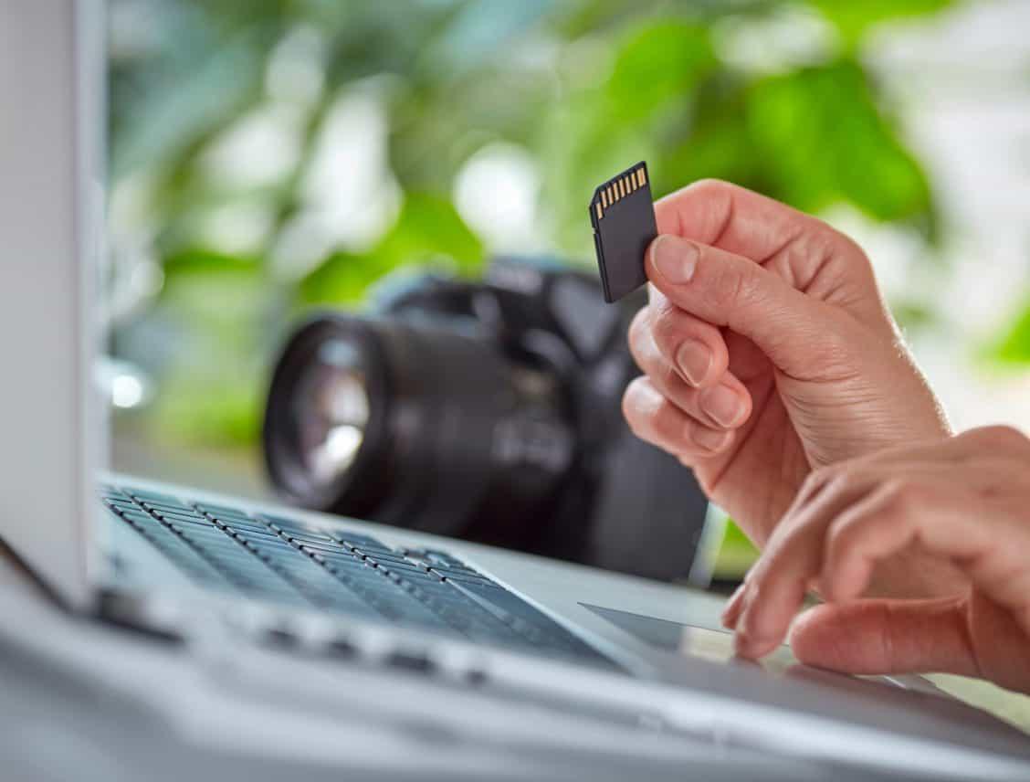 Vergeet nooit de geheugenkaart in jouw apparaat