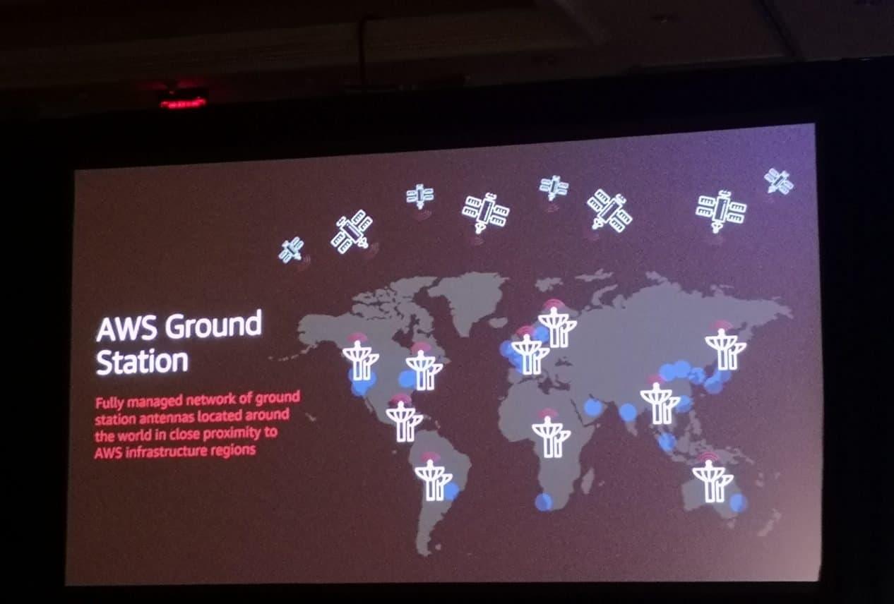 Amazon Web Services gaat satellieten verbinden met de cloud