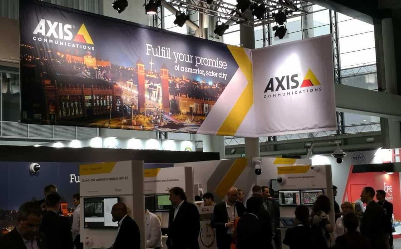 Axis transformeert langzaam van camera naar IT-bedrijf