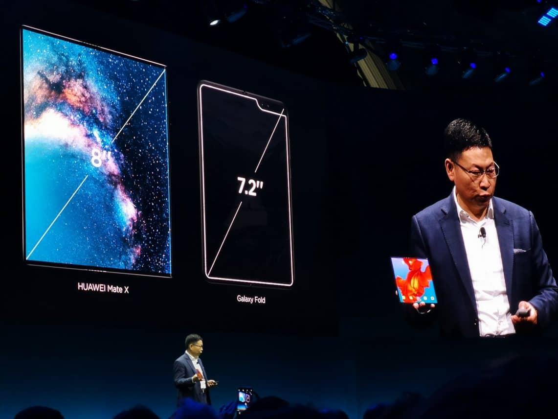 Huawei lanceert opvouwbare 5G-smartphone Mate X