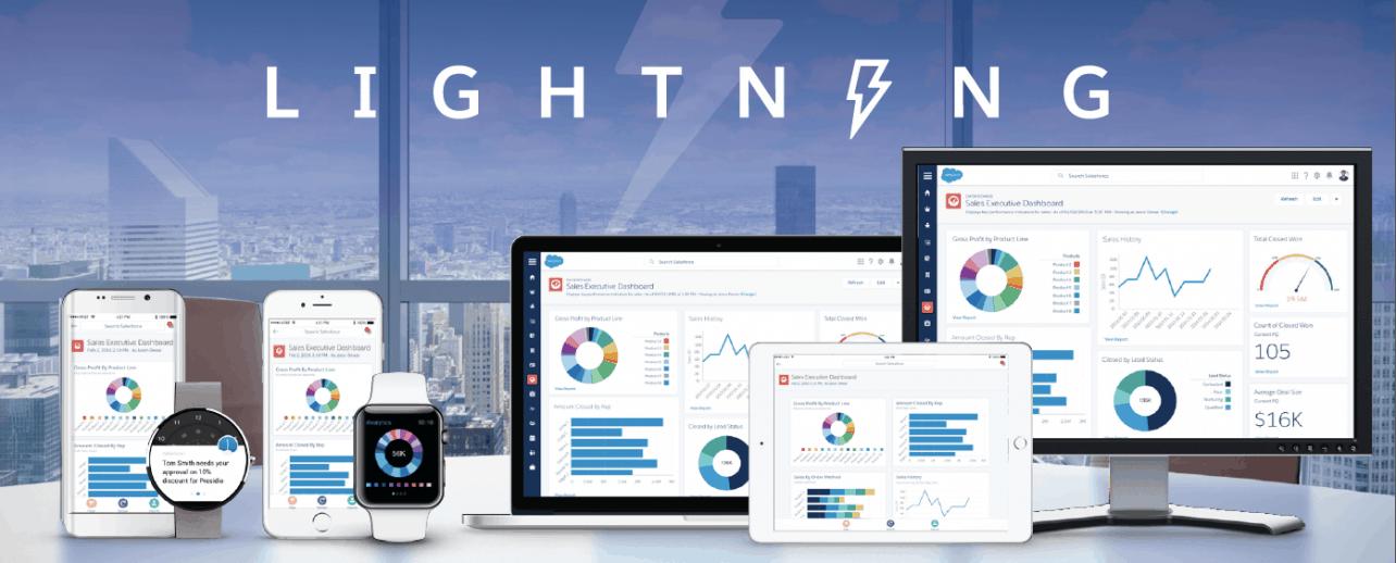 Salesforce Lightning laat enterprises apps bouwen met lowcode-platform