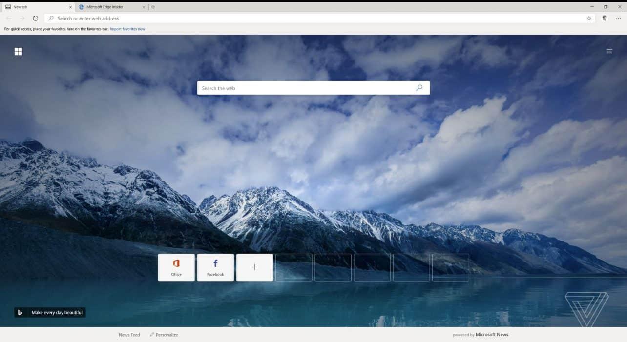 Microsoft Edge op Chromium lijkt bijna klaar voor publieke preview