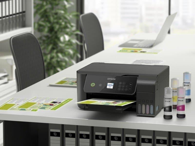 Epson laat EcoTank-printers besparen op kosten en ruimte