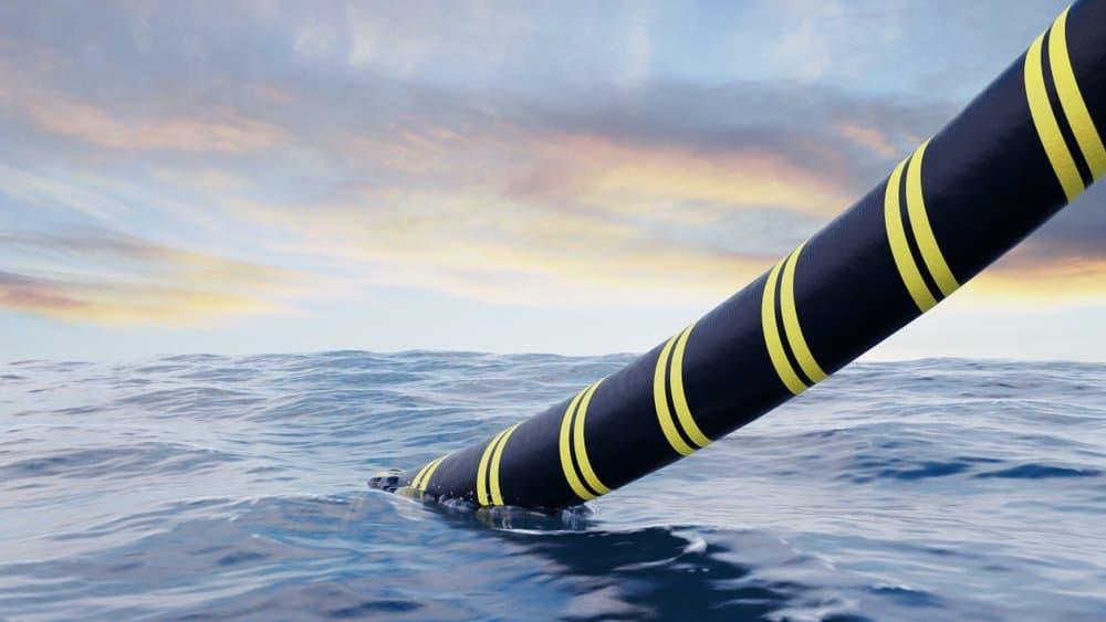 Google's onderzeese kabel van Europa naar Amerika is online