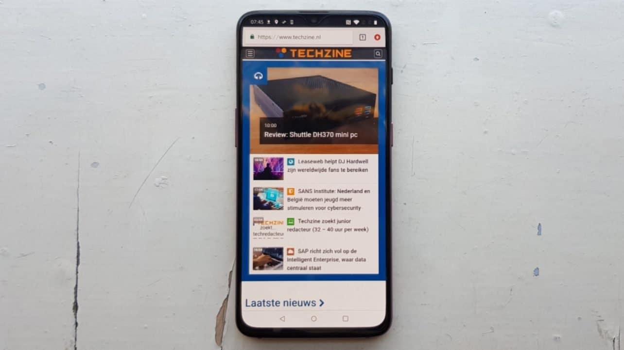 Review OnePlus 6T – zeer strakke toptelefoon
