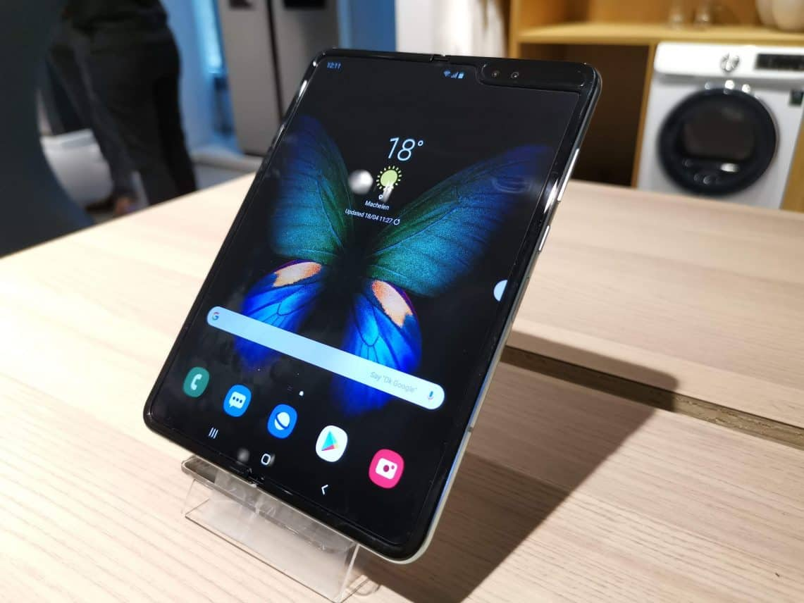 Samsung lanceert opvouwbare telefoon Galaxy Fold in september