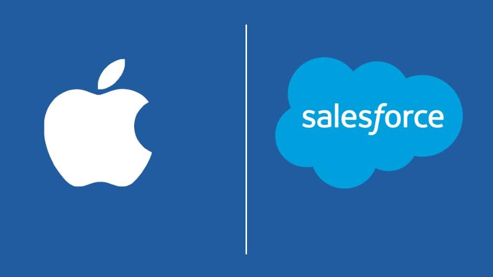 Salesforce en Apple lanceren training-app voor werknemers